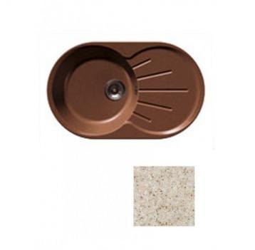 Мойка GRANFEST GF-R750L 750*460 песочный-302