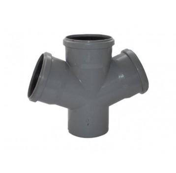 Крест канализационный пластиковый