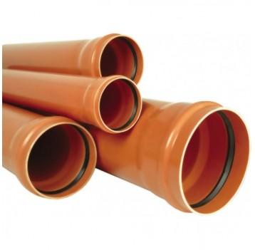 Трубы наружные НПВХ   (с кольцом),отводы,тройники и тд.